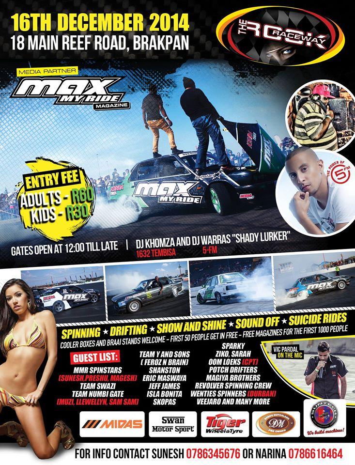 Spin City Rock Raceway Carscene Co Za